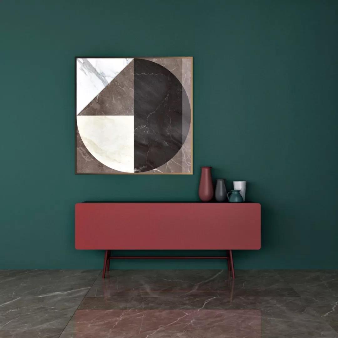 丹青石系列 | 慕斯深咖陶瓷大板